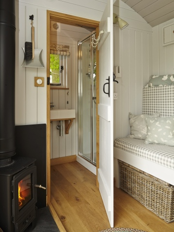 Inside the Shepherds Huts
